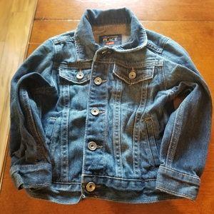 The children's  place boys denim jacket